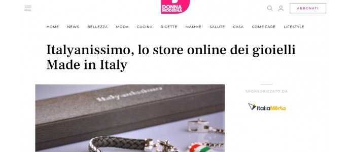 ITALYANISSIMO è su Donna Moderna